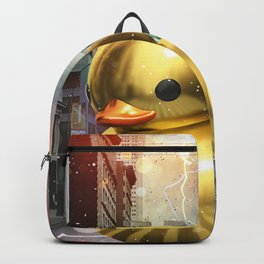 The Golden Rubber Duck Backpack