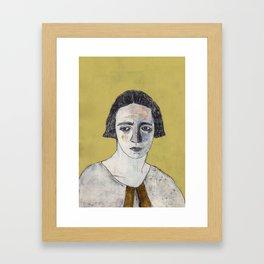 Irène Curie Framed Art Print