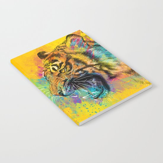 Angry Tiger Notebook