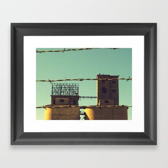 Flour Mill Framed Art Print