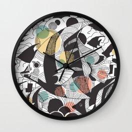 Fly Fish II Wall Clock