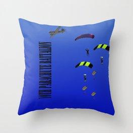 10th Parachute Battalion Throw Pillow