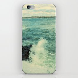Rhode Island Crashing Wave iPhone Skin
