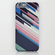Retro Blue Slim Case iPhone 6