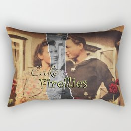 Cake & Fireflies Rectangular Pillow
