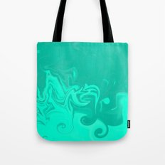 Ocean swirls Tote Bag