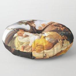 Francisco de Goya - Witches Sabbath (El Aquelarre) 1798 Artwork for Wall Art, Prints, Posters, Tshir Floor Pillow