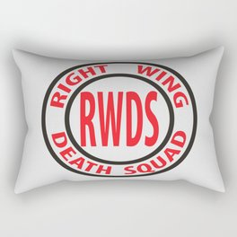 Right Wing Death Squad 8 Rectangular Pillow
