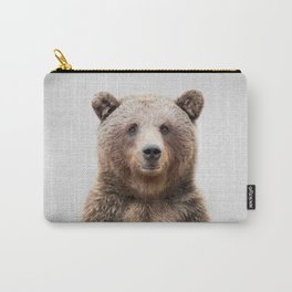 Grizzly Bear - Colorful Carry-All Pouch