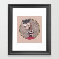 mouse club dropout. Framed Art Print