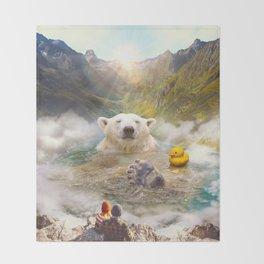 Bear Necessities Throw Blanket
