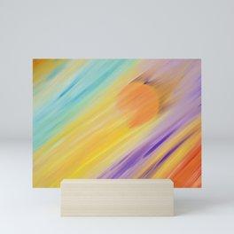 """Catch the Sun #1 – Sequel #1"" Oil Painting Mini Art Print"