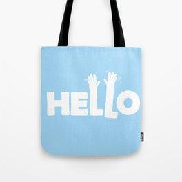 HELLO! Tote Bag