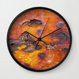 Rusted Iron Bridge rustic decor Wall Clock