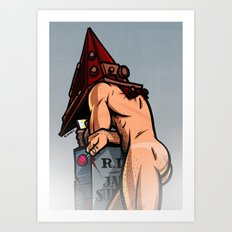 Silent Hill: Pyramid Head Art Print