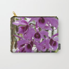 Magenta Orchids Carry-All Pouch