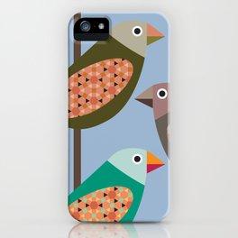 Fun Finches iPhone Case