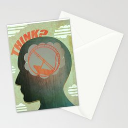 THINK? Stationery Cards