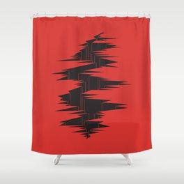 DIE FRAKTUR Shower Curtain