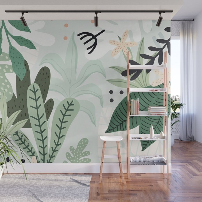 Into the jungle II Wall Mural
