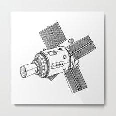 Satellite of Love Metal Print