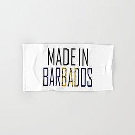 Made In Barbados Hand & Bath Towel