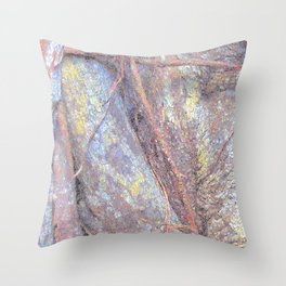 Strangler Fig Abstract Throw Pillow