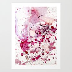Clown, Mr Eyecandy Art Print