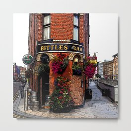 Bittles Bar Metal Print