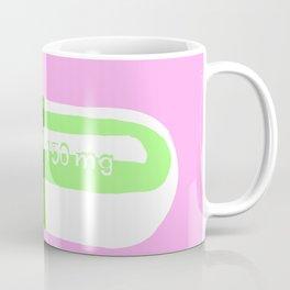 Crazy Pill Pink Coffee Mug