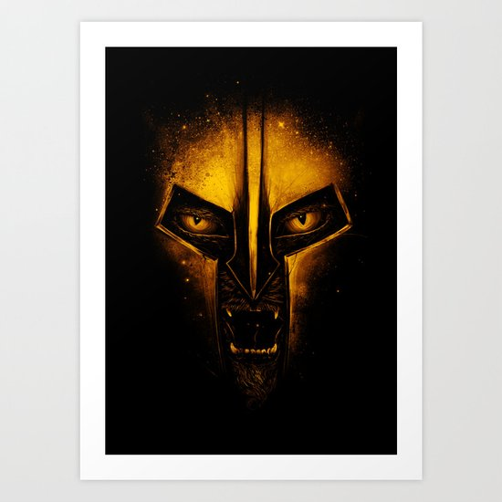 The Protector Art Print