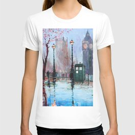 dr who art painting T-shirt