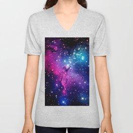 Eagle Nebula Unicorn Color Unisex V-Neck