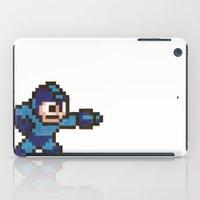 mega man iPad Cases featuring Mega Man by Alison Hinch