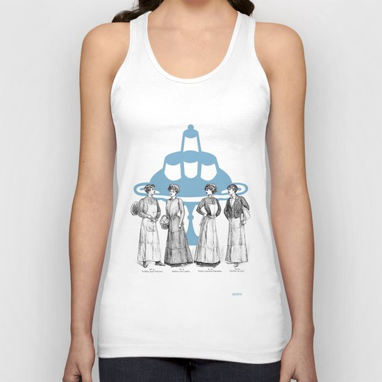 old fashioned cooking Unisex Tank Top