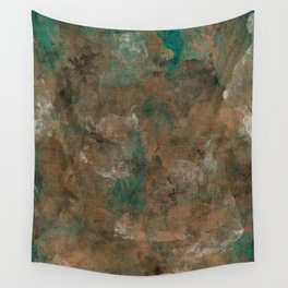 Patina Copper Wall Tapestry