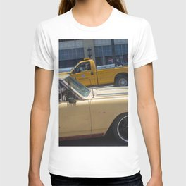 Dog in a car T-shirt