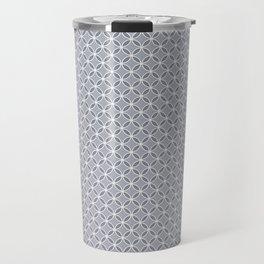 A simple small gray, white pattern. Travel Mug