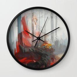 My baby (Red Riding Hood) Wall Clock