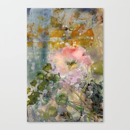 Evening Rose Canvas Print