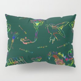 Magic symbols Pillow Sham