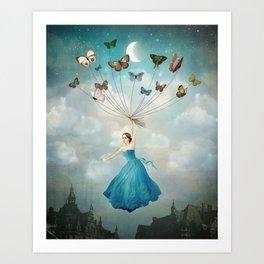 Leaving Wonderland Art Print
