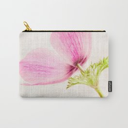Linen In Pink Carry-All Pouch
