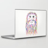 wizard Laptop & iPad Skins featuring Wizard by Simbo