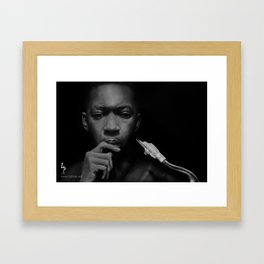 JohnColtrane Framed Art Print