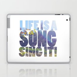 Life is a Song Laptop & iPad Skin