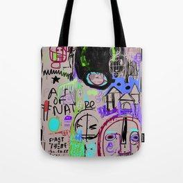 """""""Angry Boy Blackboard"""" Tote Bag"""