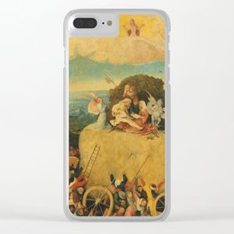 The Haywain Triptych - Hieronymus Bosch Clear iPhone Case
