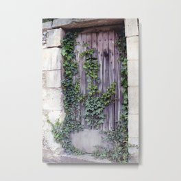 French Door Series, #2 - Coulon, France Metal Print