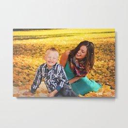 Family Shoot-Bree & Silas3 Metal Print